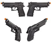 HFC Full Metal M92 GBB Gas Blowback Airsoft Gun Pistol with Full & Semi Auto Functions