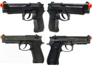 HFC Metal Semi Auto M9 GBB Gas Blowback Airsoft Gun Training Pistol
