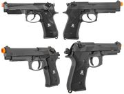 HFC Semi Auto M9 GBB Gas Blowback Airsoft Gun Training Pistol with Rail
