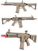 ICS CXP YAK C S1 M4 YAGER Keymod Airsoft Gun AEG in Tan Carbine MTR Stock Model ASG-50164