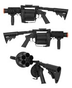 ICS GLM 6 Shell Rotating Grenade Launcher ASG Officially Licensed