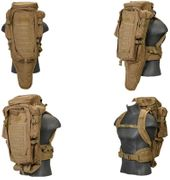 Lancer Tactical Escape and Evasion Survival Rifle Carry Pack Backpack in Khaki CA-356KN