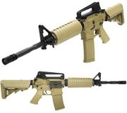 KWA Airsoft Gun M4 KM4A1 Tactical Carbine Rifle with Adjustable Crane Stock