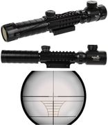 Lancer Tactical Airsoft Gun 3-9X32 Railed Red & Green Illuminated Sniper Rifle Scope CA-1411