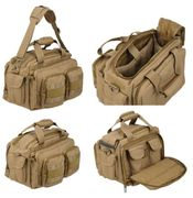 Lancer Tactical 600 Denier Nylon Covert Operator Tactical Concealed Carry Small Range Bag in Tan CA-980TN