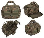 Lancer Tactical 600 Denier Polyester Covert Operator Tactical Concealed Carry Small Range Bag in Jungle Digital Marpat Camo CA-980D