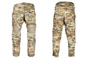 Lancer Tactical Airsoft Combat BDU Pant with Knee Pads in Modern Land Camouflage CA-777