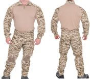 Lancer Tactical Combat Military MilSim Uniform Set in Desert Digital Marpat Camo CA-2760DDC