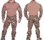 Lancer Tactical Combat Military MilSim Uniform Set in Modern Land Camo CA-2760MA
