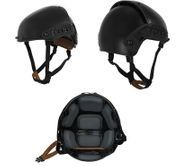 Lancer Tactical CP AF Style Airsoft MilSim Helmet with Rails in Black CA-761B
