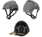 Lancer Tactical CP AF Style Airsoft MilSim Helmet with Rails in Foliage Green CA-761G