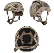 Lancer Tactical CP AF Style Airsoft MilSim Helmet with Rails in HLD Camo CA-761H