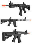 Lancer Tactical EVO M4 Evolution Keymod RIS Airsoft Gun in Black LOW FPS Version LT-12BKL-G2