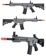 Lancer Tactical EVO M4 Evolution Keymod RIS Airsoft Gun in Grey LT-12YK-G2