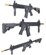 Lancer Tactical Gen 2 EVO M4 Evolution RIS Airsoft Gun in Black LT-12B-G2-ME