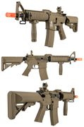 Lancer Tactical Gen 2 MK18 MOD 0 M4 Commando Airsoft Gun in Tan LT-02CT-G2