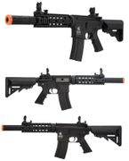 Lancer Tactical Suppressed M4 SD 7 Inch Airsoft Gun in Black LT-15B-G2