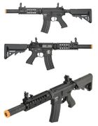 Lancer Tactical Proline Suppressed M4 SD 7 Inch Airsoft Gun in Black LT-15B-G2-ME