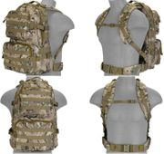 Lancer Tactical Multi-Purpose Bug Out Survival Escape Evade MOLLE Backpack in Modern Land Camouflage CA-355C