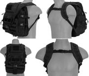 Lancer Tactical Operator Laptop Backpack Pack in Black CA-357BN