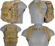 Lancer Tactical Operator Laptop Backpack Pack in Tan CA-357T