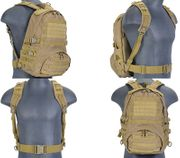Lancer Tactical Operator Patrol Pack MOLLE Survival Backpack in Dark Earth CA-354T
