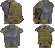 Lancer Tactical Operator Patrol Pack MOLLE Survival Backpack in OD Green CA-354G