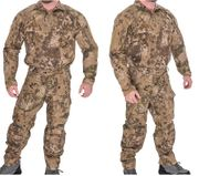 Lancer Tactical Operator Rugged Combat Military MilSim Uniform Set with Soft Shell Padding in HLD Camo CA-2754H