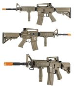 Lancer Tactical Proline Series M4 RIS Airsoft Gun in Tan LT-04T-G2-ME
