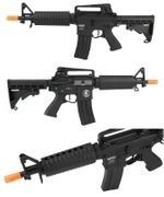 Lancer Tactical M933 Commando Airsoft Gun in Black LOW FPS LT-01BL-G2-ME