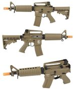 Lancer Tactical M933 Commando Airsoft Gun in Tan LOW FPS LT-01TL-G2-ME