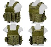 Lancer Tactical Russian AK-47 Style Airsoft MilSim Plate Carrier Vests