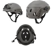 Lancer Tactical Special Forces Recon Style Airsoft MilSim Railed Helmet in Foliage Green CA-1246G