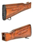 LCT Real Wood LCK74 Style Full Stock for Airsoft Gun AK Series