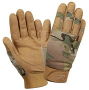 Lightweight Military Tactical All Purpose Operator Mechanics Duty Gloves in MultiCam