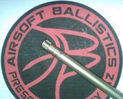 Madbull Airsoft 6.01MM Tight Bore 7075 Aluminum Inner Barrel 450MM for ECHO1 ASR UTG Type 96 APS-2 and More