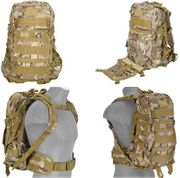Modern Land Camo 600D Polyester Lancer Tactical EDC FAST MOLLE Pack Backpack CA-353C
