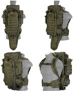 Lancer Tactical Escape and Evasion Survival Rifle Carry Pack Backpack in OD Green CA-356G