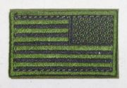 OD Green USA Flag Patch Right Shoulder