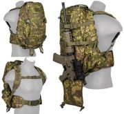 Lancer Tactical 600 Denier 3 Day MOLLE Assault Pack Backpack in PC Green Zone Camo CA-352P