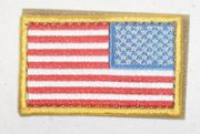 Red White and Blue Flag Patch Right Shoulder
