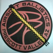 Reversible Yellow and Black Polyester Paracord Survival Bracelet