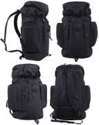 Rothco 45 Liter Tactical Long Haul Hikers Camping Backpack in Black 2847