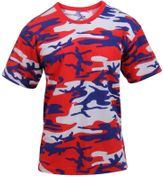 Rothco All American Red, White, and Blue Camouflage T-Shirt 3192