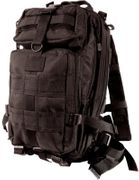 Rothco Medium Size Tactical MOLLE Survival Gear Transport Pack in Black 2287