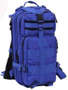 Rothco Medium Size Tactical MOLLE Survival Gear Transport Pack in Blue 2581