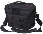 Rothco Covert Dispatch Tactical Laptop Shoulder Bag in Black