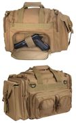 Rothco Covert Operator Tactical Concealed Carry Range Bag in Coyote Brown