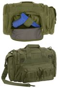 Rothco Covert Operator Tactical Concealed Carry Range Bag in OD Green
