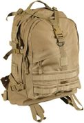 Rothco Large MOLLE Tactical Survival Gear Transport Pack in Coyote Brown 7289